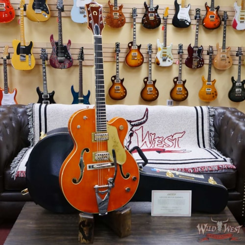 2021 Gretsch G6120T-59 Vintage Select Edition '59 Chet Atkins Vintage Orange Stain Lacquer