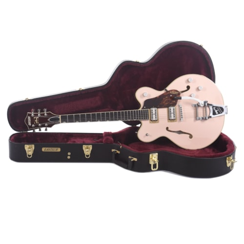 Gretsch Player's Edition G6609TDC Broadkaster Center Block Shell Pink w/Broad'Tron Pickups & Bigsby (CME Exclusive)