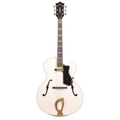 Guild Limited Run A-150 Savoy Special Hollowbody Snowcrest White