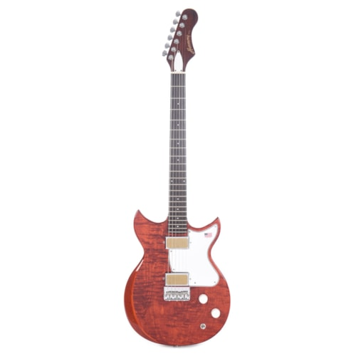 Harmony Limited Edition Rebel Flame Maple Transparent Red