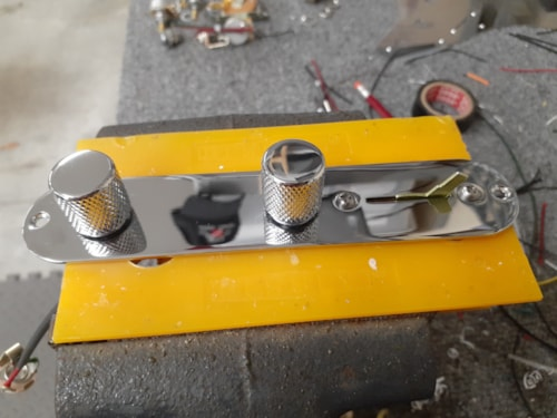 HOAGLAND CUSTOM Telecaster 4-Way Switching w/TBX Tone Control - incl Control Plate & Knobs