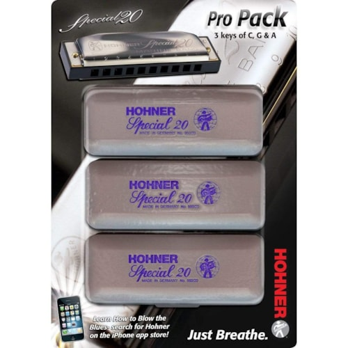 Hohner Special 20 Pro Pack C/G/A