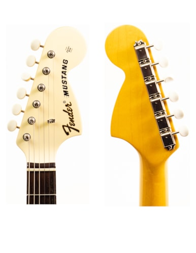 2008 Fender Competition Mustand Olympic White