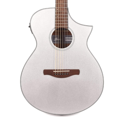 Ibanez AEWC10 Acoustic Silver High Gloss
