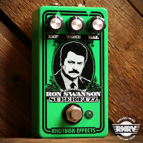 IdiotBox Effects Ron F**king Swanson Super Fuzz