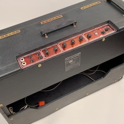 """1963 AC-30 Combo X Model Expanded Frequency Twin 15"""" Copper Panel with Rare Charcoal Levant"""