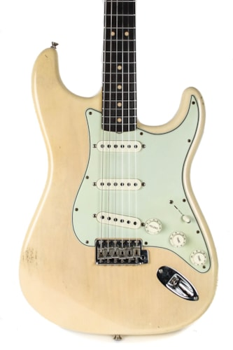 2019 Fender Custom Shop Masterbuilt '63 Journeyman Stratocaster Vintage Blonde Brazilian