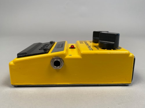 1985 DOD FX-50 Overdrive Preamp Yellow