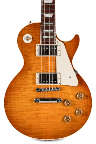 2010 Gibson CS 50th Anniversary '60 Les Paul Gold Book Ice Tea Sunburst