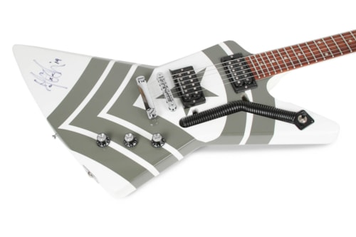 2013 Gibson M-4 Jason Hook Sherman Explorer White