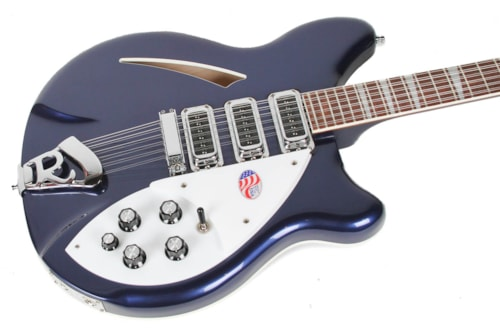 2012 Rickenbacker 370/12 Midnight Blue