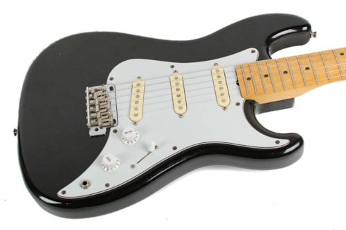 1986 Squier Bullet Black