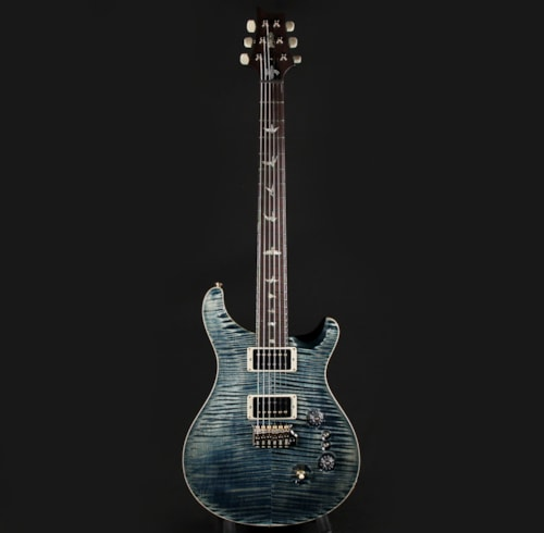Paul Reed Smith PRS 35th Anniversary Custom 24 10 Top Faded Whale Blue Pattern Thin (0316338)