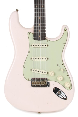 Fender CS S20 Limited 1960 Journeyman Relic Stratocaster Faded Aged Shell Pink