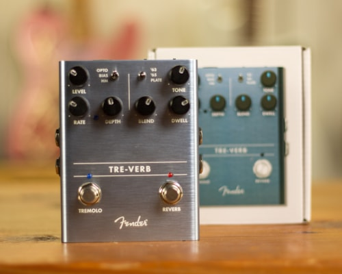 2020 Fender Treverb Blue with box and papers