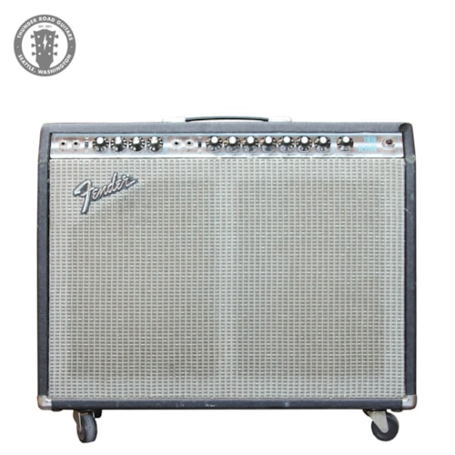 1973 Fender Twin Reverb Silver Panel