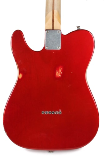 2010 Fender Roadworn Players Telecaster Candy Apple Red