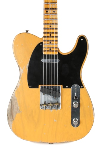 2019 Fender Custom Shop Heavy Relic '53 Telecaster Butterscotch Blonde