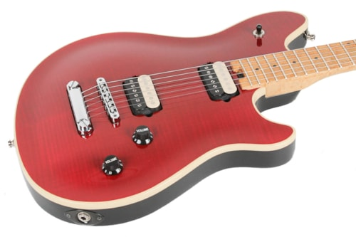 Peavey Wolfgang Patent Pending Transparent Red