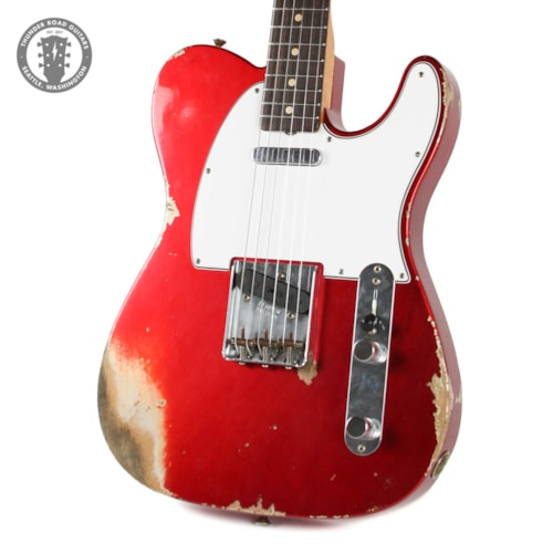 2020 Fender Custom Shop WW10 '59 Heavy Relic Telecaster Candy Apple Red