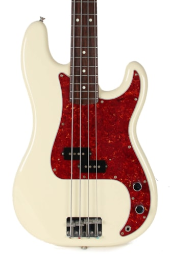 1994 Fender MIJ Precision Bass Olympic White