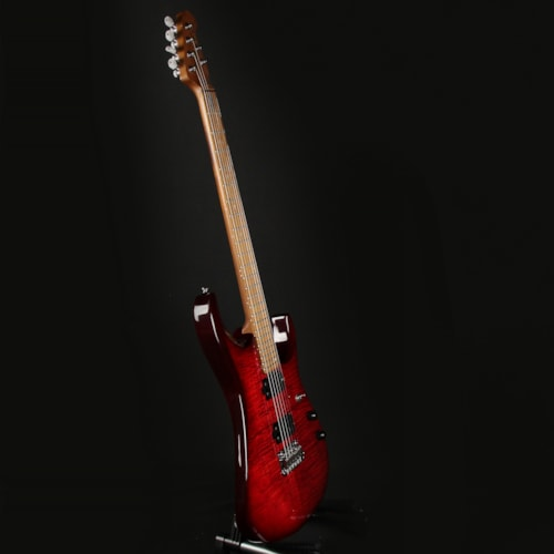 Sterling by Music Man JP150FM Royal Red John Petrucci (SG43506)
