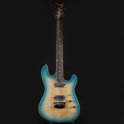 Ernie Ball Music Man BFR Ball Family Reserve Sabre Coral Blue Burst 45 of 60 Limited (G98651)
