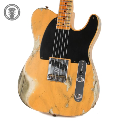 Fender Custom Shop '50s Esquire Heavy Relic Butterscotch Blonde