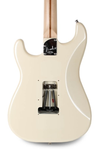 2008 Fender American Deluxe Stratocaster Olympic Pearl White
