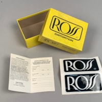 Ross R50 Distortion Pedal Box and Papers