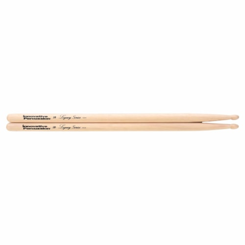 Innovative Percussion Legacy Series 2B Hickory Wood Tip Drum Sticks