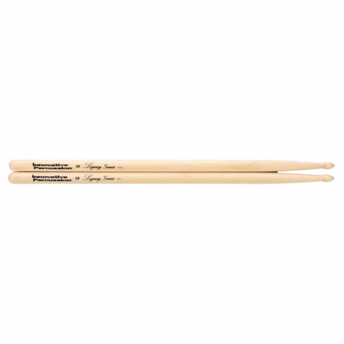 Innovative Percussion Legacy Series 5B Hickory Wood Tip Drum Sticks