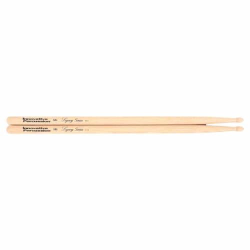 Innovative Percussion Legacy Series 5B Long Hickory Wood Tip Drum Sticks