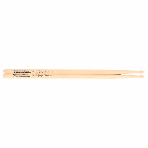 Innovative Percussion Legacy Series 7A Hickory Wood Tip Drum Sticks