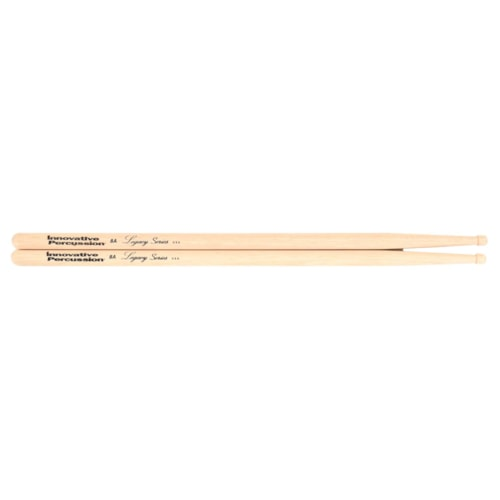 Innovative Percussion Legacy Series 8A Hickory Wood Tip Drum Sticks