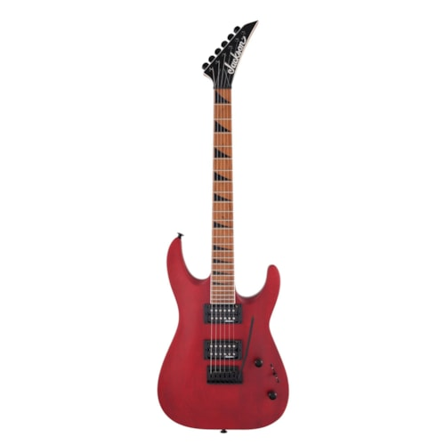 Jackson JS Series Dinky Arch Top JS24 DKAM Red Stain
