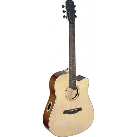 James Neligan Scotia series dreadnought cutaway acoustic-electric guitar w/ solid spruce top