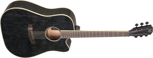 James Neligan YAK-DCFI Cutaway Acoustic-Electric Dreadnought, Solid Mahogany Top, New, Free Shipping