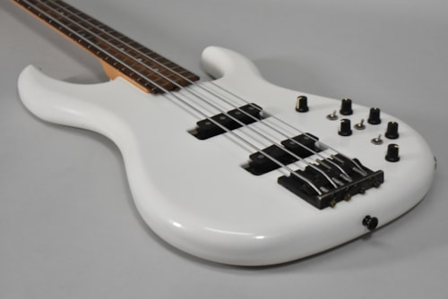 James Tyler Electric 4-String Bass Guitar White Finish