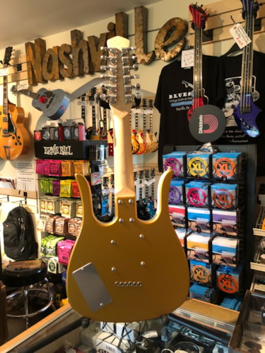 "2005 USA Jerry Jones Neptune ""Shorty"" 12-string Octave Guitar Gold"