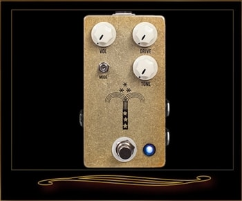 JHS JHS Morning Glory V4 Discreet Overdrive Pedal