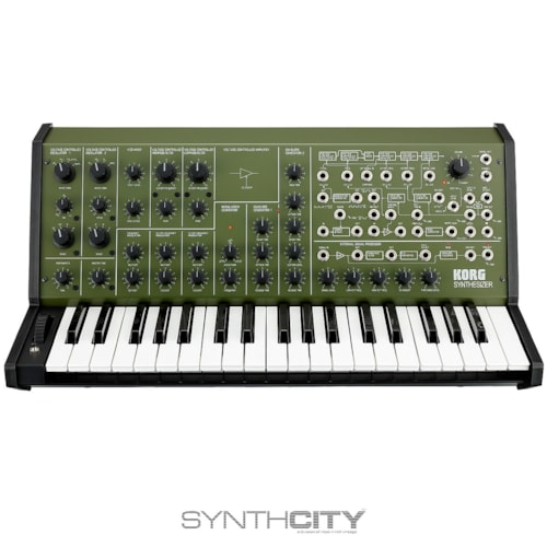 Korg MS-20 FS Monophonic Analog Synthesizer Green