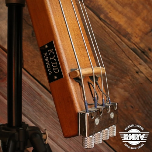 KYDD Carry On Electric Upright 4-String Bass w/ Stand
