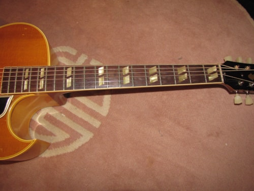 1949 GIBSON L4CN (1st year) Natural (blond)