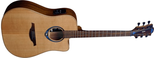 Lag THV10DCE Dreadnought Cutaway Hyvibe Acoustic-Electric, Free Shipping (B-Stock)
