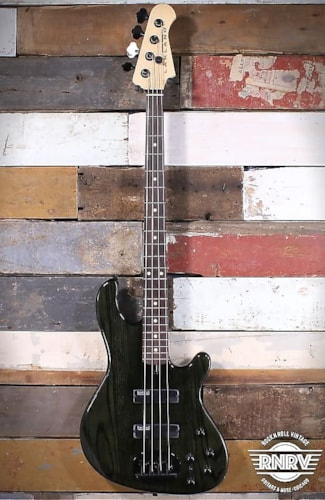 Lakland Skyline Series 44-OS - Trans Black with Rosewood Fingerboard