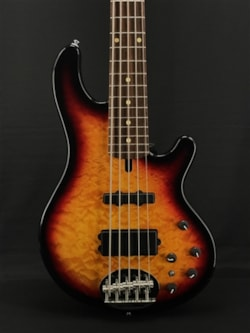 Lakland Skyline 55-02 Deluxe in Tobacco Sunburst with Laurel Fretboard