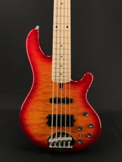 Lakland Skyline 55-02 Deluxe in Cherry with Maple Fretboard