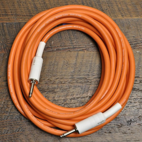 Lava Tephra 1/4 Inch-1/4 Inch Speaker Cable 20' Straight-Straight