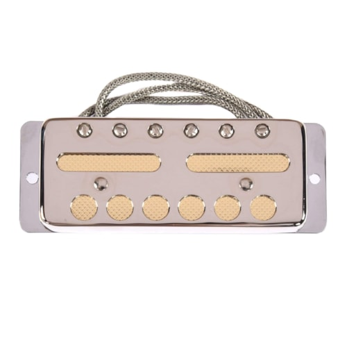Lollar Gold Foil Teisco-style Single Coil Pickup Neck Nickel